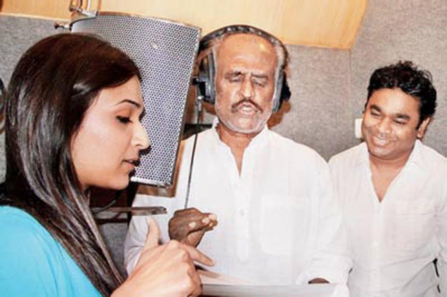 Rajinikanth sings for 'Kochadaiyaan'