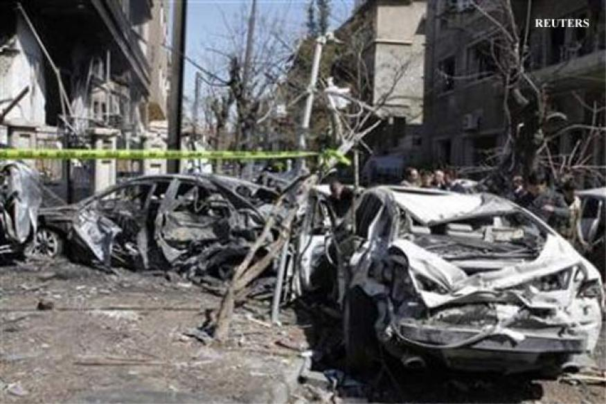 Syria: Twin bombings in Damascus kill at least 27