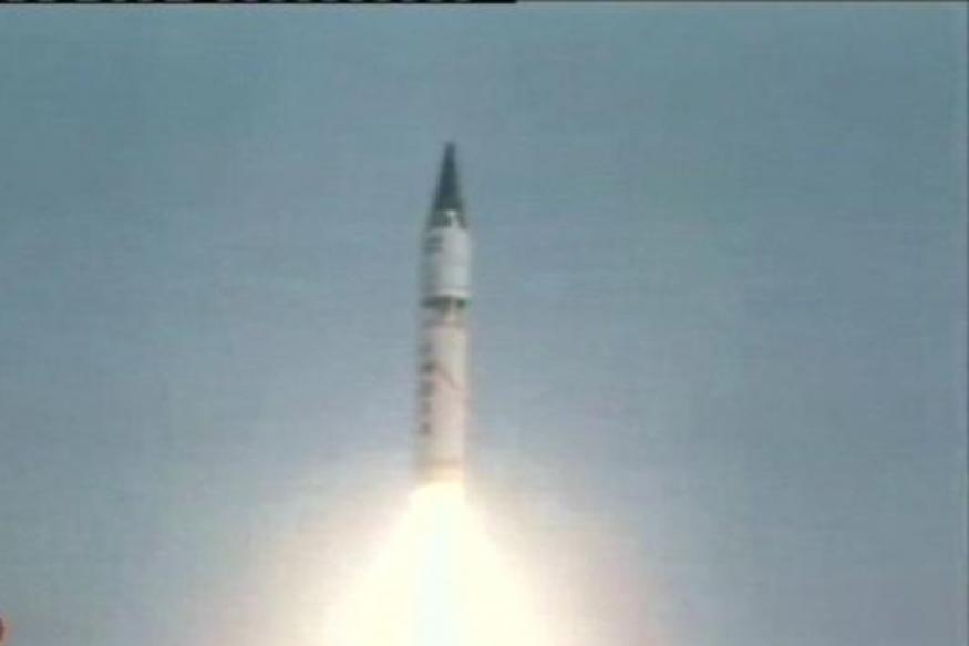 PM congratulates DRDO for successful Agni-V test