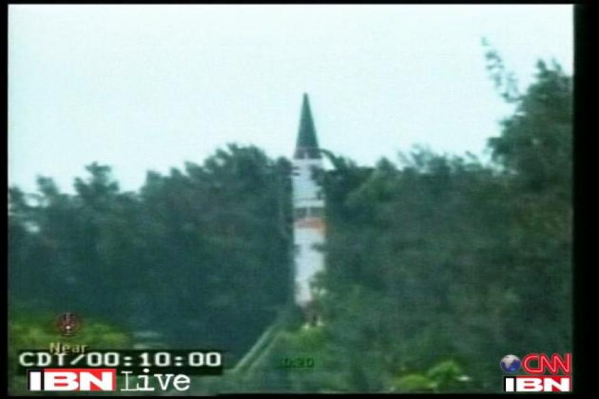 India set to join ICBM club with Agni-V missile