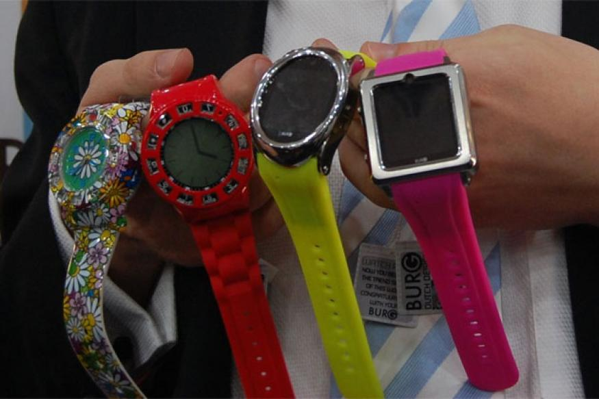 Burg launches wrist watch mobile phones in India