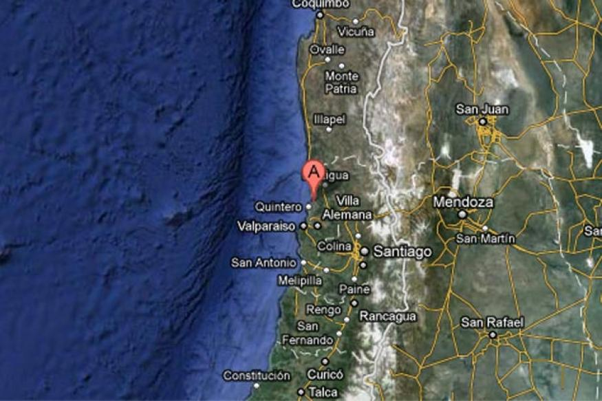 Magnitude 6.5 earthquake shakes central Chile
