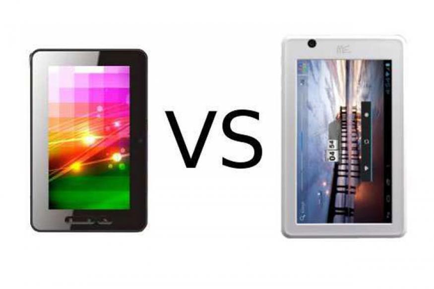 HCL MeTab U1 vs Micromax FunBook