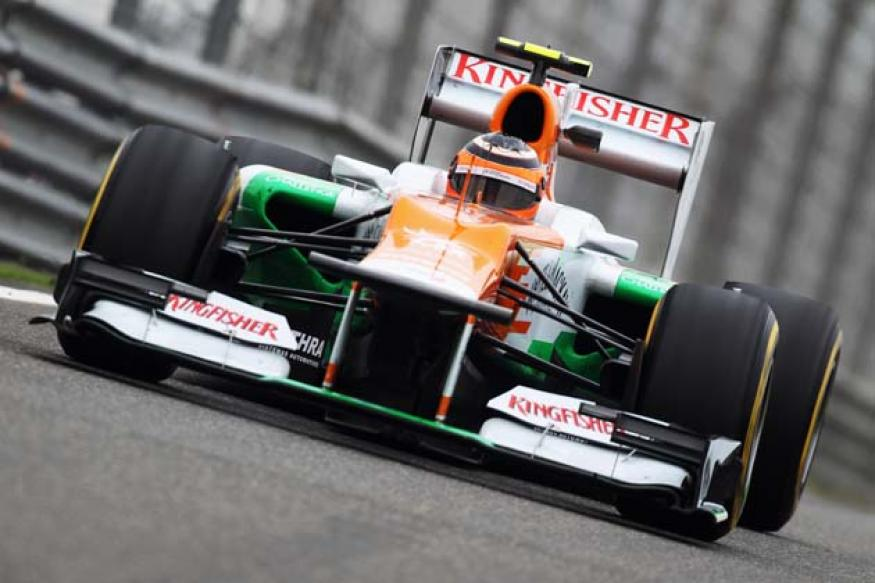Force India finish in top 10 in Shanghai practice