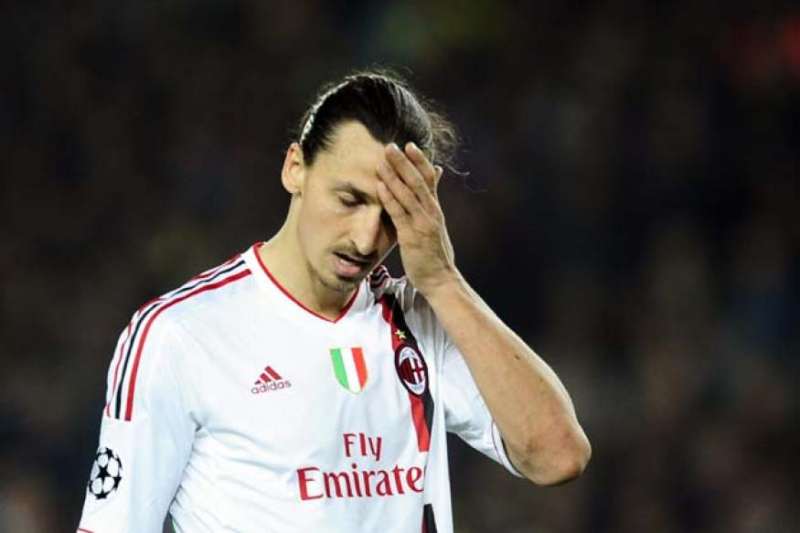 Ibrahimovic left disgusted by Barca homecoming