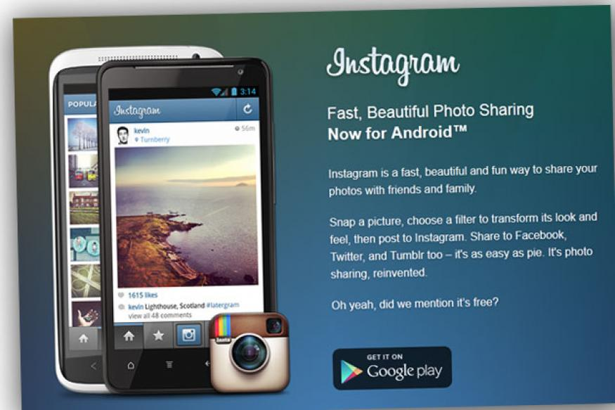 Instagram for Android update adds tablet support