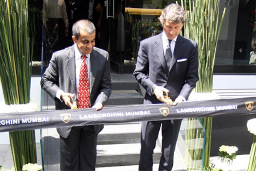 Lamborghini opens second showroom in India