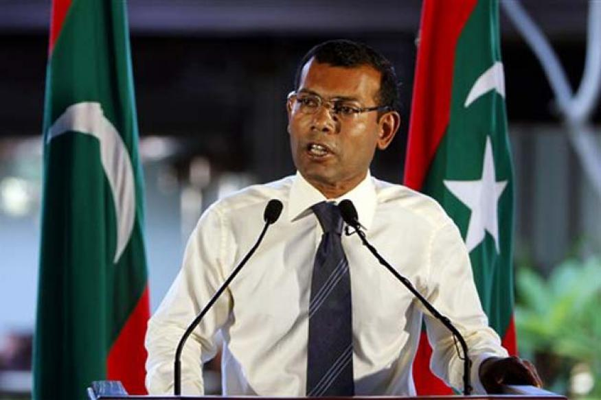 Nasheed meets Manmohan to discuss Maldives future