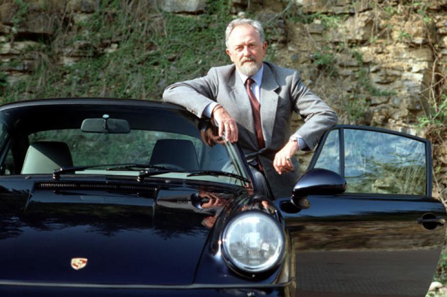 Sports car designer Ferdinand Porsche dies