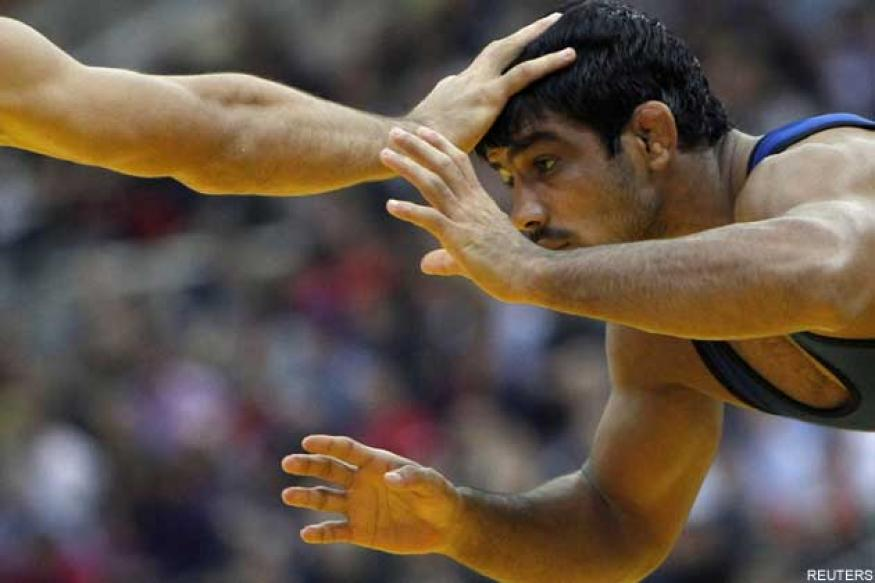 Sushil finally qualifies for London Olympics