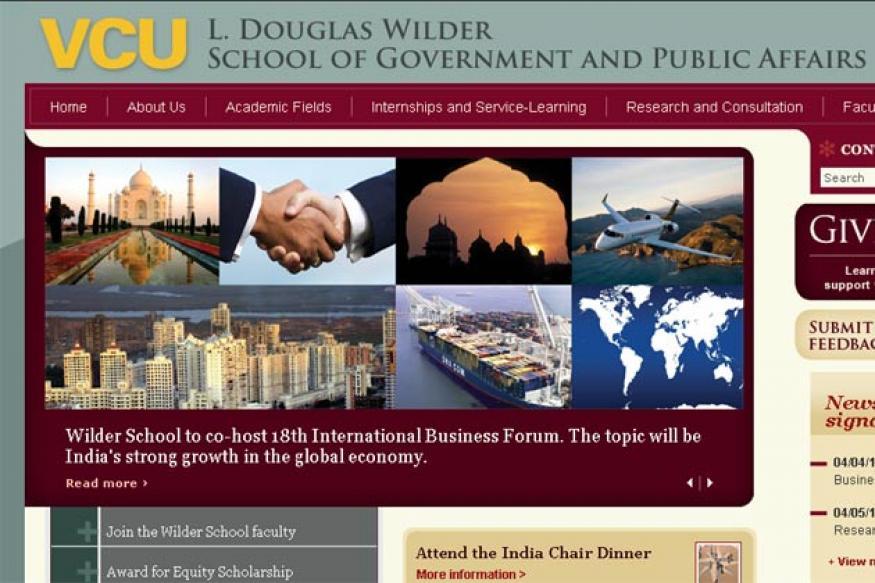 US university to establish India Chair