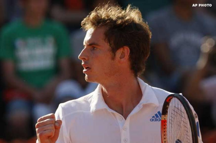 Back injury forces Murray out of Madrid Open