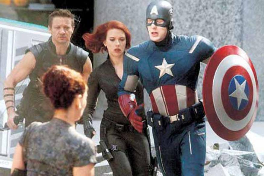 'The Avengers' tops US box office for third week