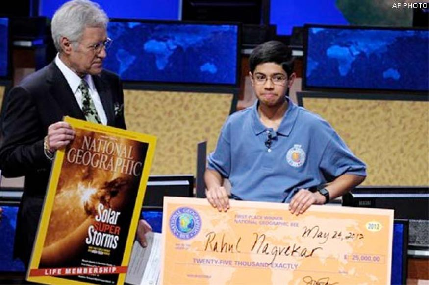 Indian-origin boy wins National Geographic Bee