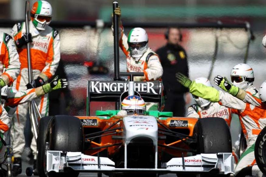 Monaco GP: Force India 5th and 7th on the grid
