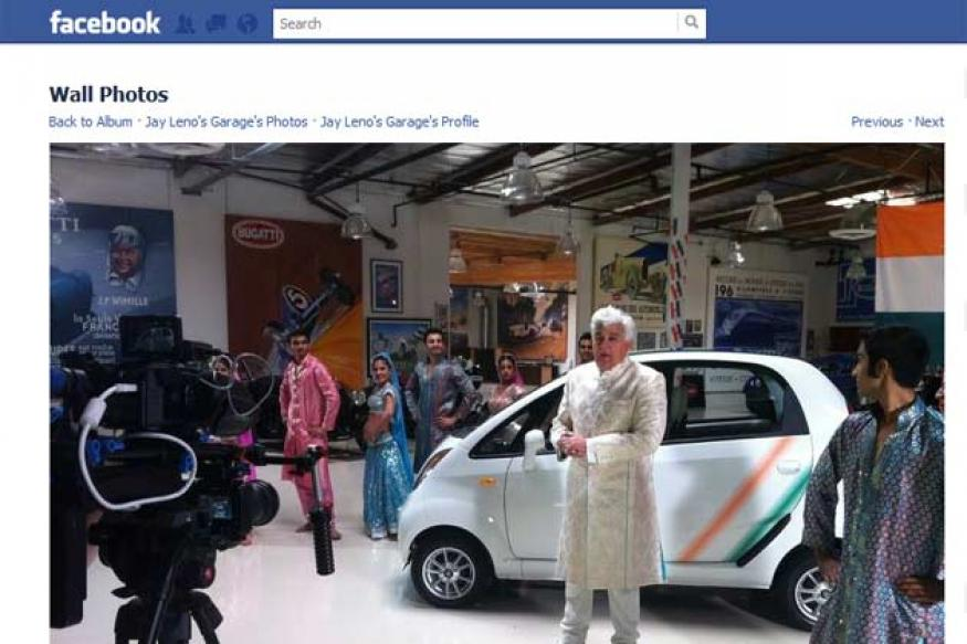 Jay Leno gets a Tata Nano for his garage