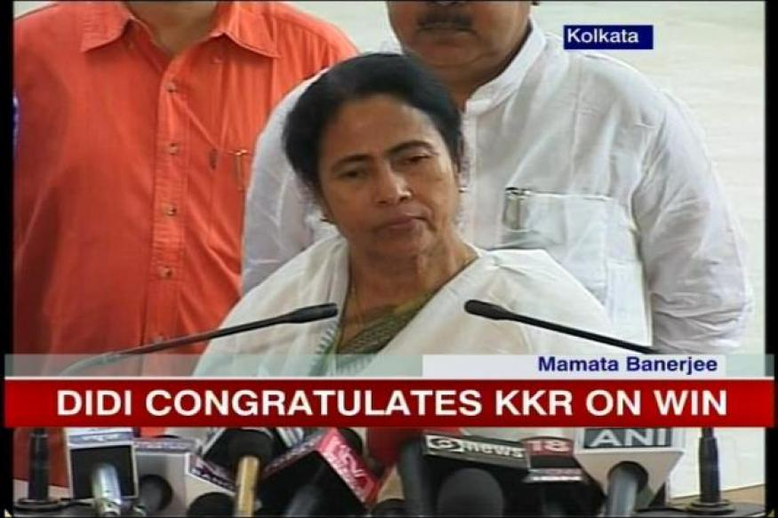 Mamata congratulates KKR on winning IPL-5