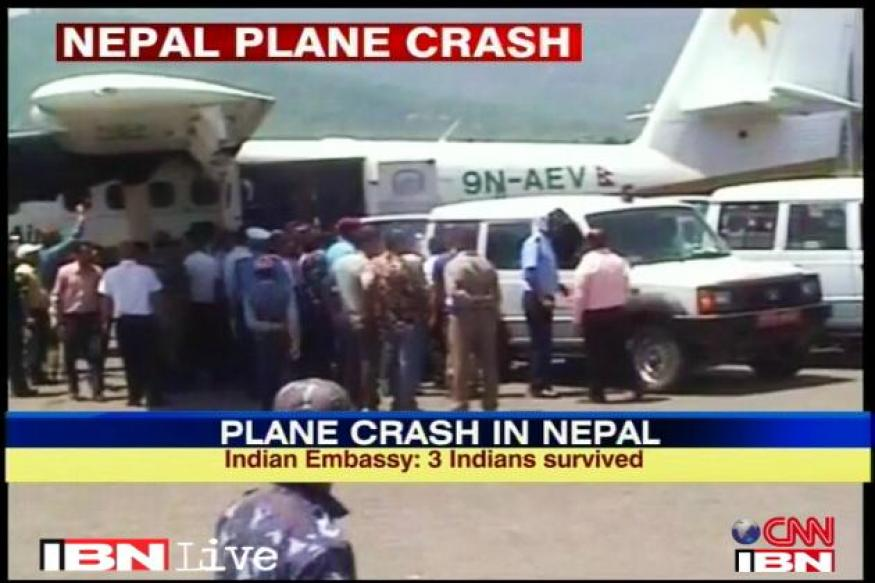 Plane crashes in Nepal, 13 Indian pilgrims killed