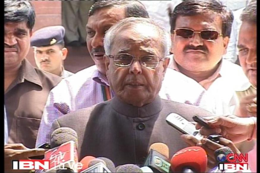 Pranab's USP for President: sheer experience