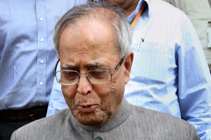 RBI taking steps to check rupee slide: Pranab