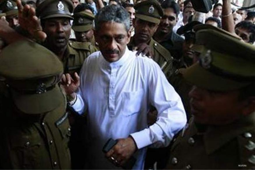 Sri Lanka to free jailed ex-army chief Fonseka