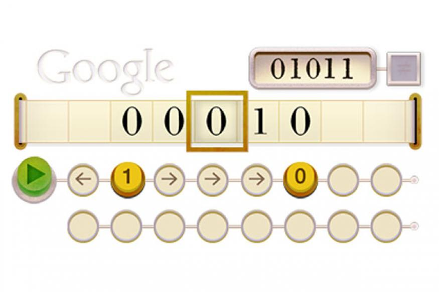 Alan Turing Google doodle: How to solve it