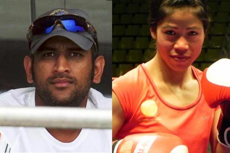 Dhoni, Mary Kom amongst most marketable athletes