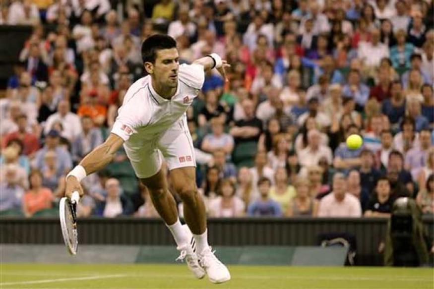 Djokovic beats Harrison to reach Rd 3