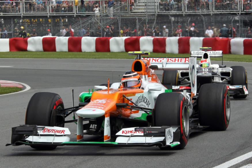 No points for Force India at Canadian GP