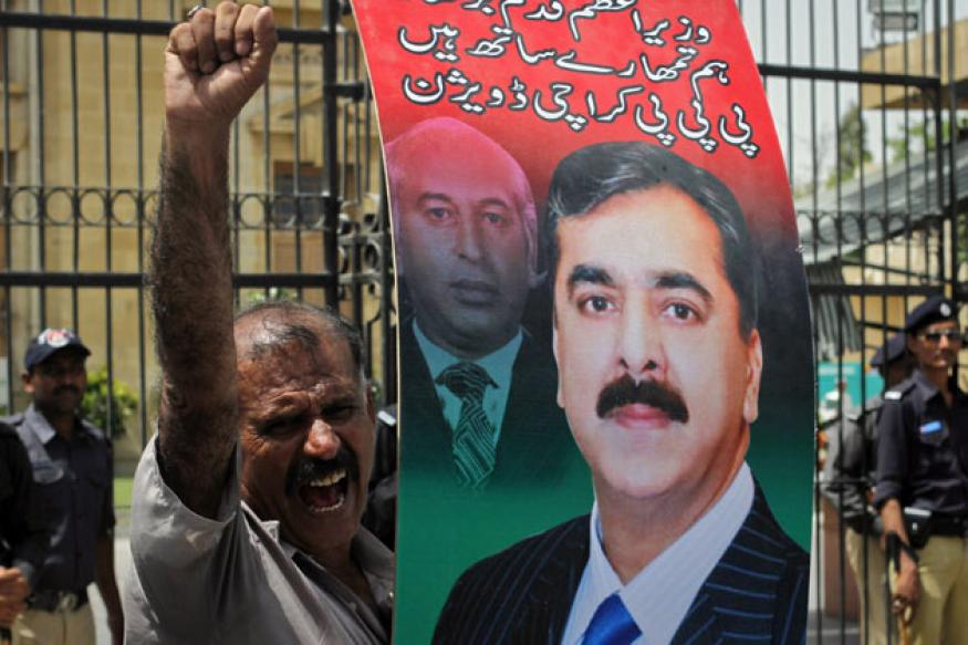 Pak SC refers to Indian orders to disqualify Gilani