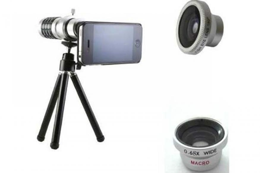 iPhone might get SLR like changeable lenses