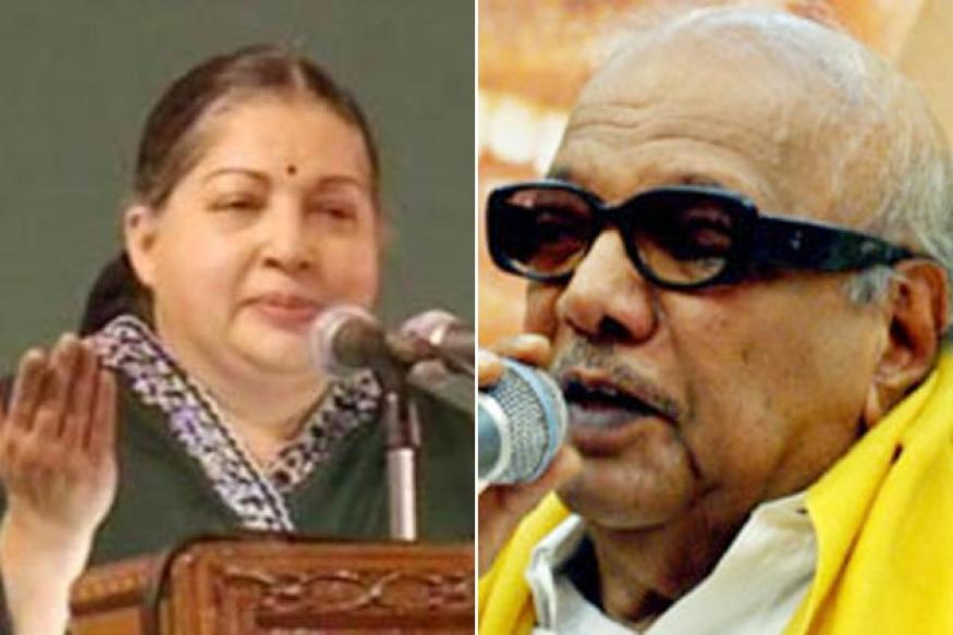 Jaya govt pursuing vendetta politics: Karuna