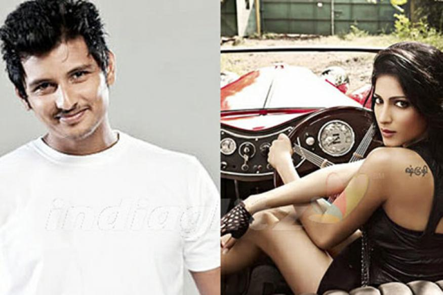 Shruti-Jiiva in Seeman's new venture 'Pagalavan'