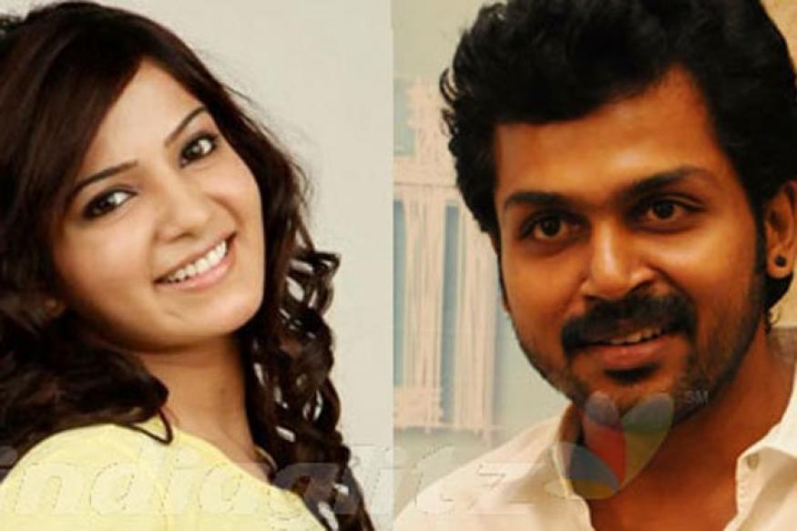 Actress Samantha to act with Karthi in 'Biriyani'