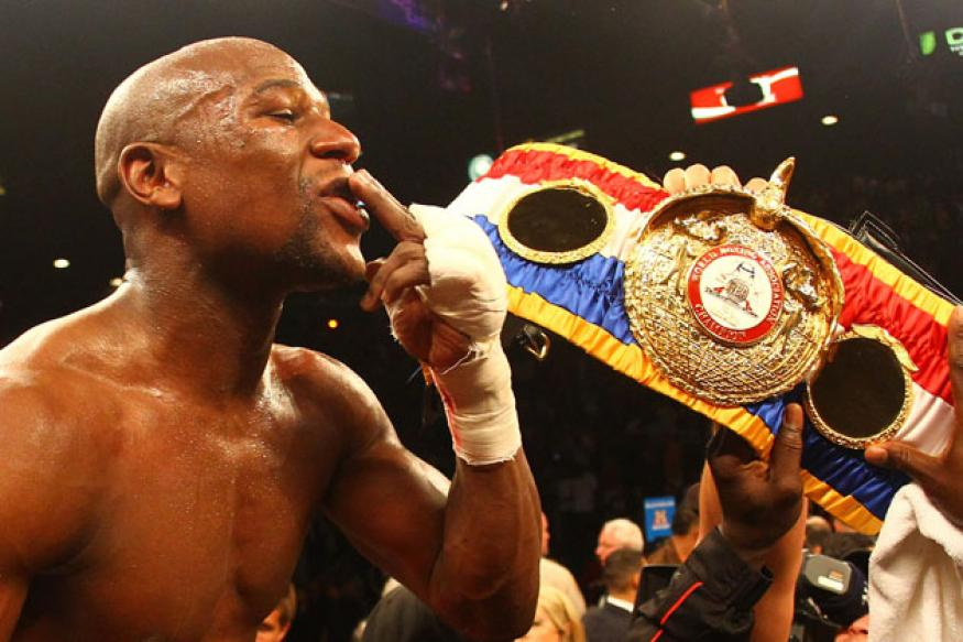 Mayweather Jr. tops Forbes list of money-makers
