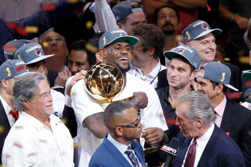 Miami beat Oklahoma to clinch NBA title