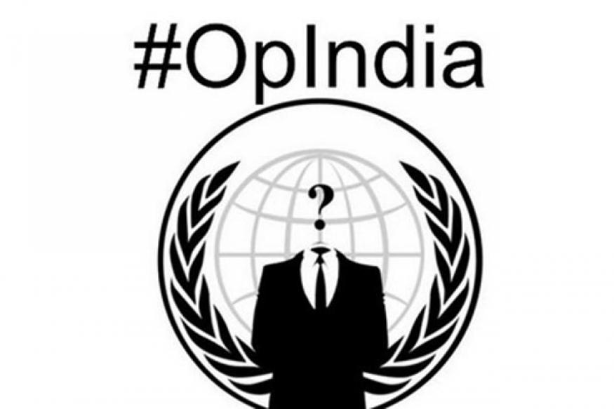 Anonymous India's street protest today