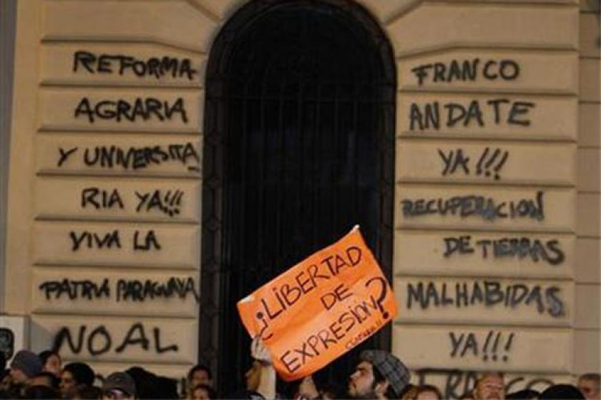 Paraguay under pressure after president impeached