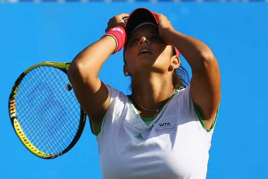 Sania slips, Olympics berth uncertain
