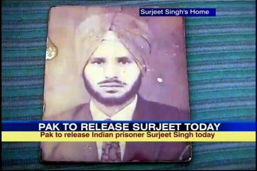 After Sarabjit blunder, Pak to release Surjeet today