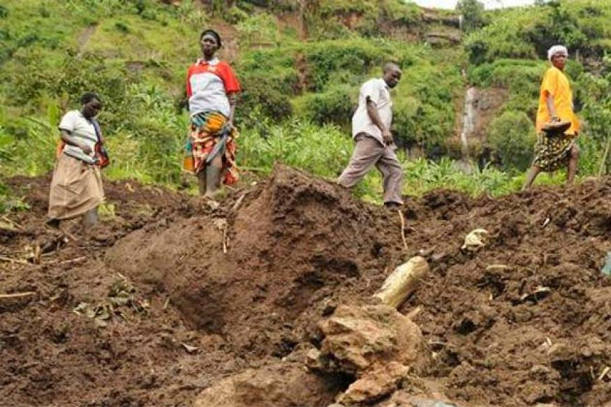 Uganda landslides destroy 3 villages; toll unknown