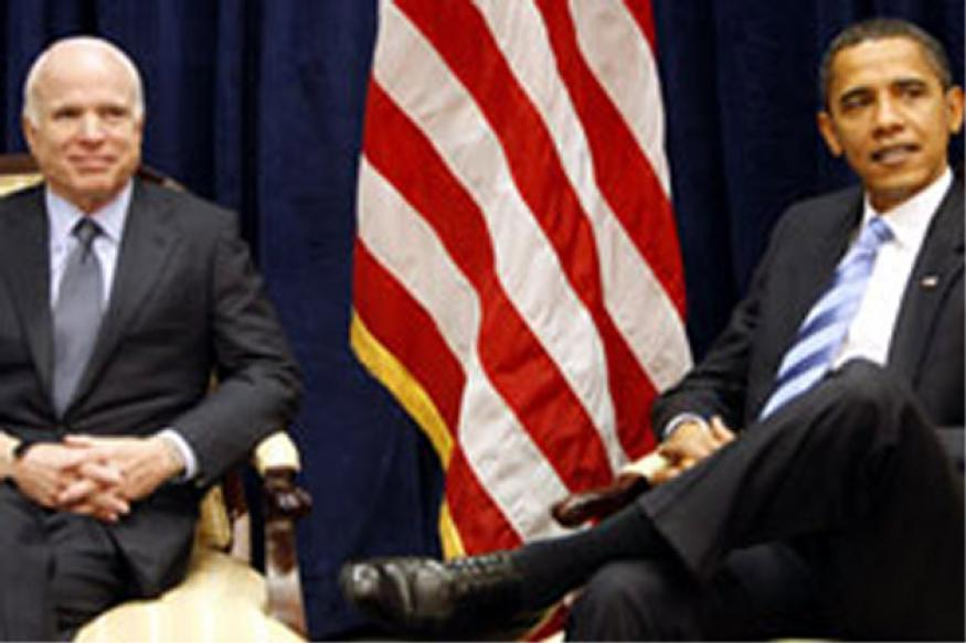 What's this? Obama longs for GOP rival like McCain