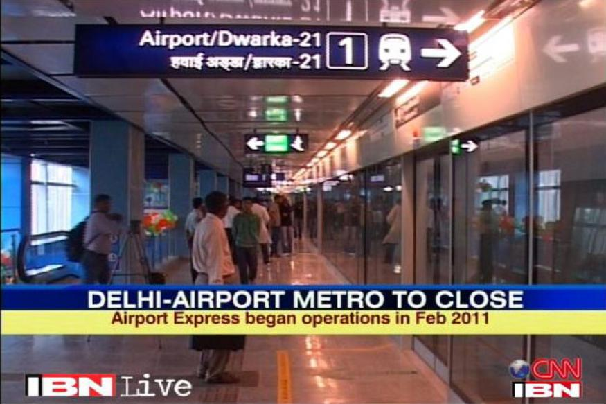Delhi's airport Metro may re-start late August