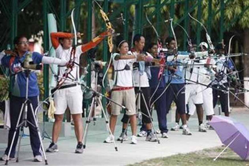 Indian archers aim high ahead of Olympics