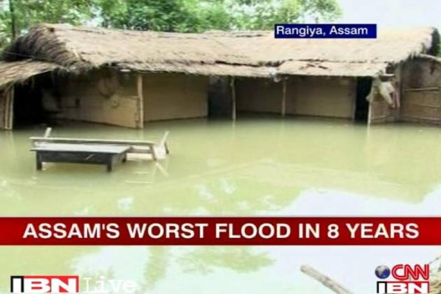 Assam flood situation alarming, 116 dead