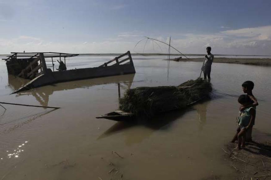 Assam: Anger after floods leave 109 dead