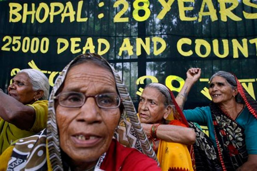 Bhopal victims hold own Olympics to protest Dow