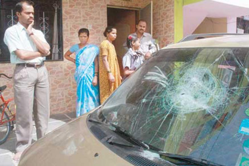Pune: 30 cars damaged in overnight rampage