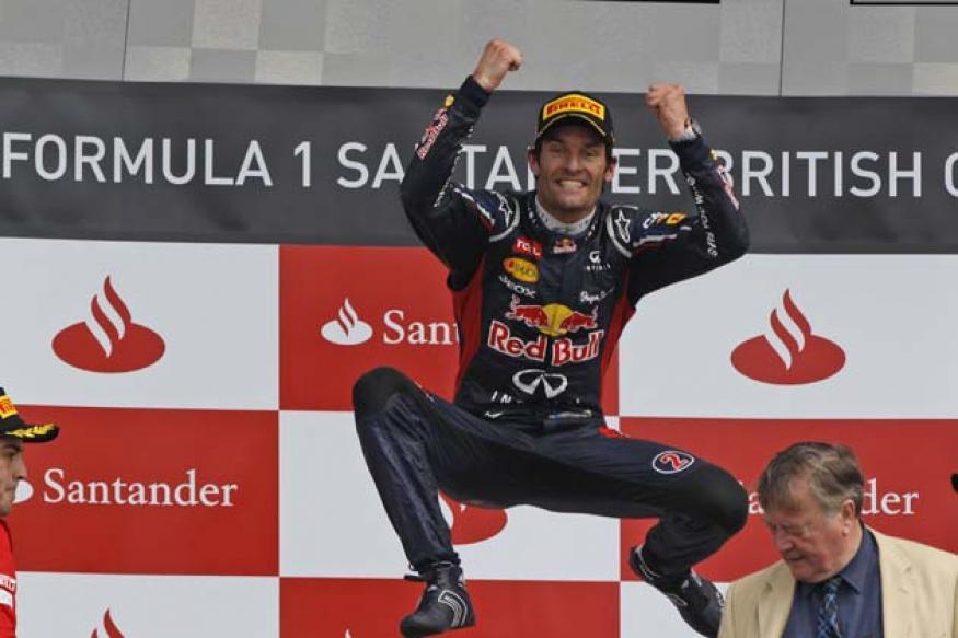 Red Bull's Mark Webber wins British Grand Prix