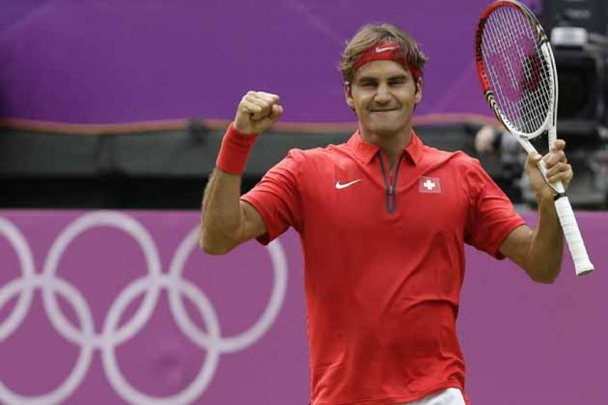 Federer eyes both singles and doubles medals